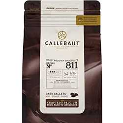Callebaut 54.5% Dark Chocolate Callets 2.5kg