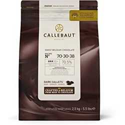 Callebaut 70% Dark Chocolate Callets 2.5kg