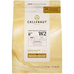 Callebaut White Chocolate Callets 2.5kg