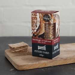 Peter's Yard Fig & Spelt Sourdough Crackers 100g