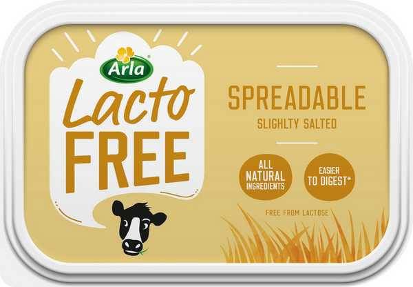 LactoFREE Spreadable Butter 250g