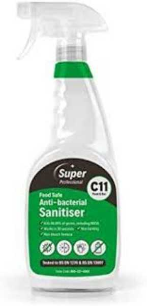 Anti-Bacterial Sanitiser (food safe) 750ml