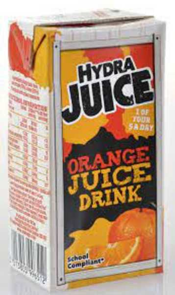 **Hydra Juice Orange 24 x 200ml (school compliant)