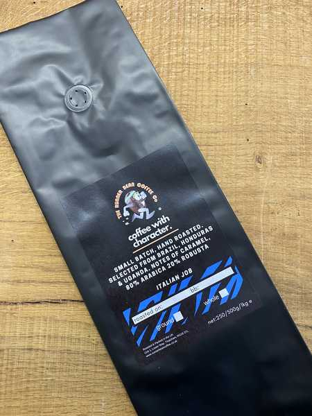 1kg Italian Job Blend Whole Bean Coffee